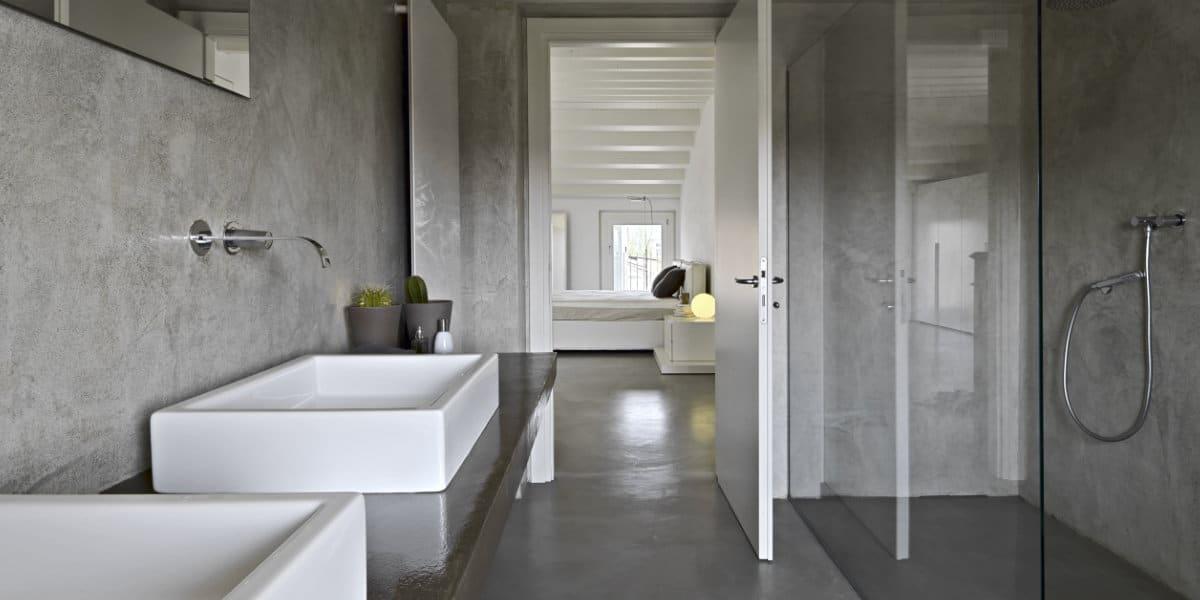 enduit beton salle de bain